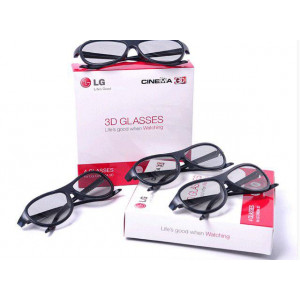 Очки для LG Cinema 3D LED LCD телевизора 4 шт. в Оленевке фото